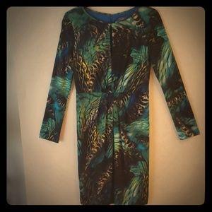 Vince camuto jungle print dress!